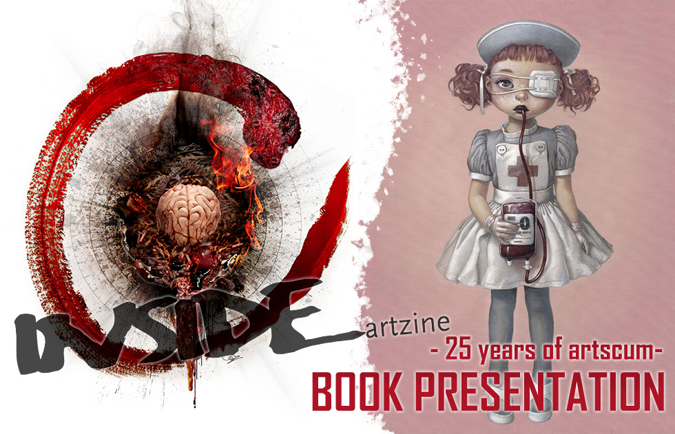 INSIDE artzine - 25 years of artscum- BOOK PRESENTATION